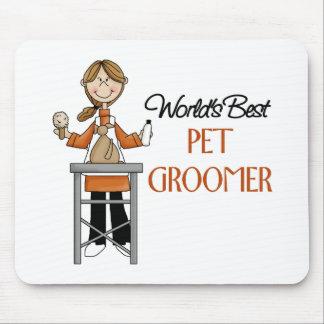 Pet Groomer Gift Mousepad
