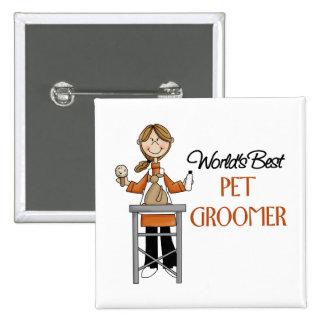 Pet Groomer Gift Pins