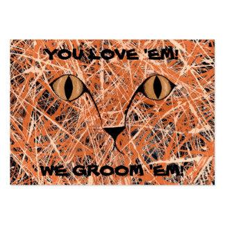 PET GROOMER (HERE, KITTY, KITTY, KITTY, KITTY) ~ LARGE BUSINESS CARD