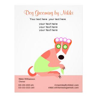 Pet Groomer s Promotional Flyer