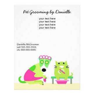 Pet Groomer s Promotional Full Color Flyer