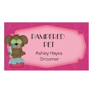 Pet Groomer/ Vet Business Card