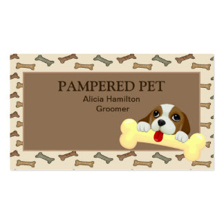 Pet Groomer/ Vet Business Card