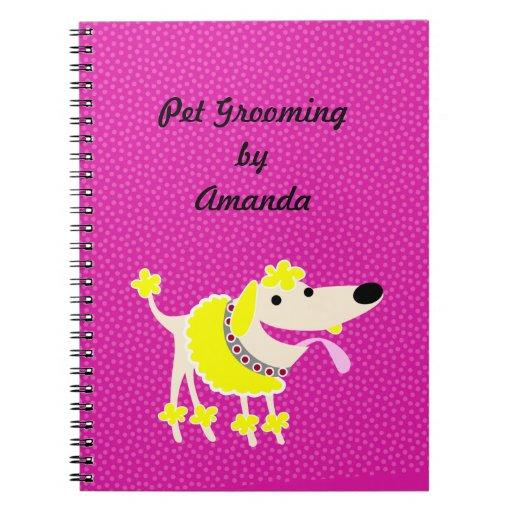 Pet Groomer's Notebook