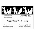 Pet Grooming Business And Appointment Card Large Business Cards (Pack Of 100)