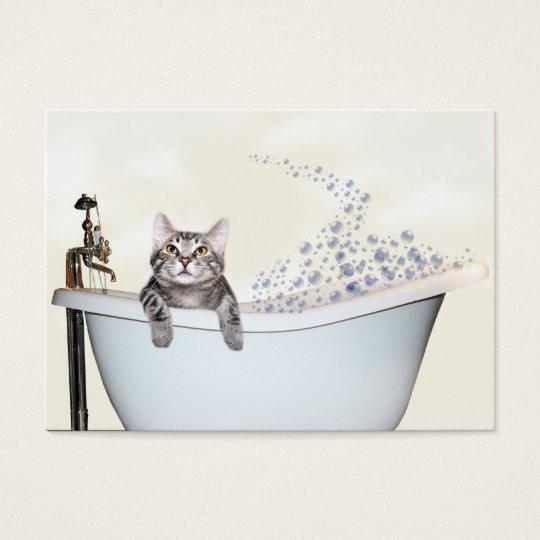 Pet grooming business card