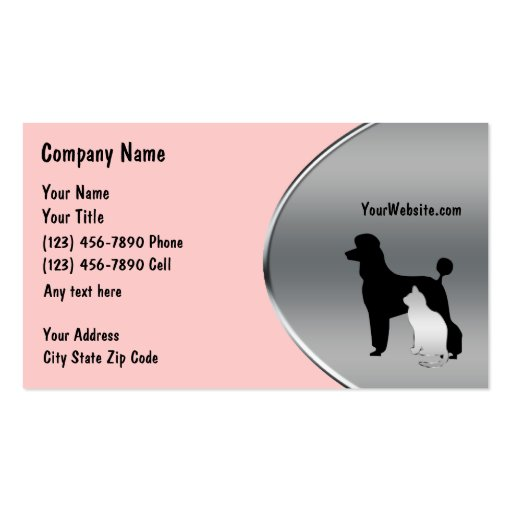 Pet grooming quotes quotesgram for Pet grooming business cards