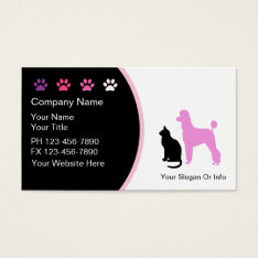 Pet Grooming Business Cards New at Zazzle