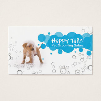 Pet Grooming Business Hall card
