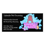 Pet Grooming Promotional Material Rack Cards