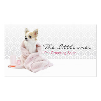 Pet Grooming Salon Business card Tarjeta De Negocio