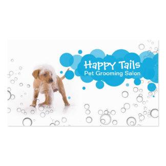 Pet Grooming Salon Business card Tarjetas De Visita