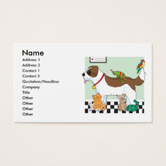 Pet Group Business Card
