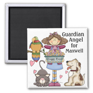 Pet Guardian Angel Magnet by SRF