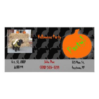 Pet Halloween Party Invitation