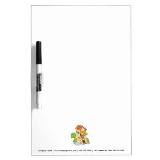 Pet Hotel Cartoon Dry Erase Board