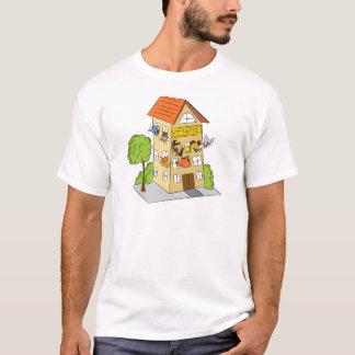 Pet Hotel Cartoon T-Shirt
