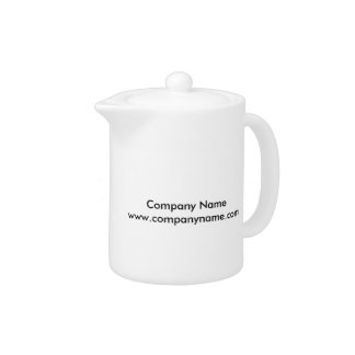Pet Hotel Cartoon Teapot