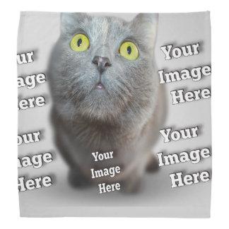 Pet Image Template Bandana