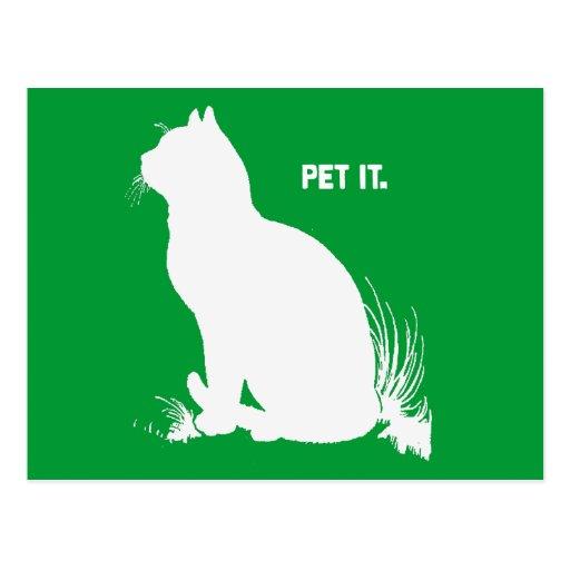 PET IT - WHITE -.png Postcards
