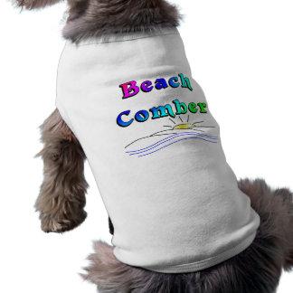 ~Pet Jacket~ del peinador de la playa Playera Sin Mangas Para Perro