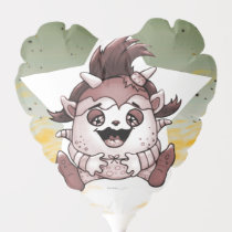 PET JOLY CARTOON BALLOON  HEART Air-Filled
