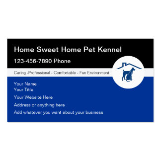 Pet Kennel Business Cards