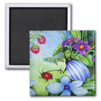 Pet Ladybug Magnet