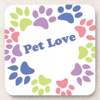 Pet Love Beverage Coaster