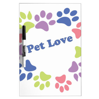 Pet Love Dry Erase Board