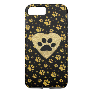 pet lover golden heart iPhone 8 plus/7 plus case