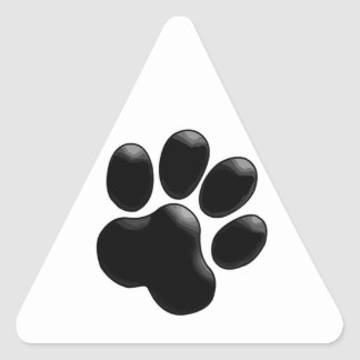 Pet Lover Paw Print Stickers