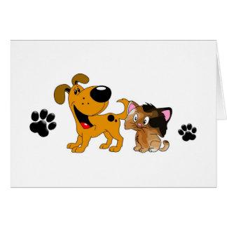 Pet Lovers! Best Friends Card