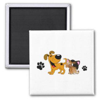 Pet Lovers! Best Friends Magnet