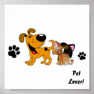 Pet Lovers! Best Friends Poster