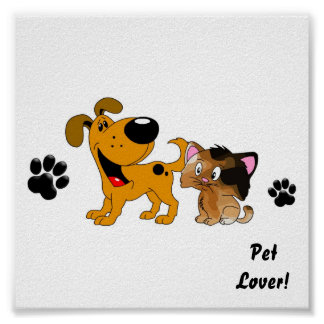 Pet Lovers! Best Friends Posters