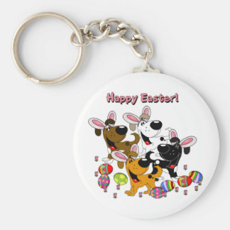 Pet Lovers! Easter Eggs Keychain