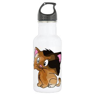 Pet Lovers! Kitty 18oz Water Bottle