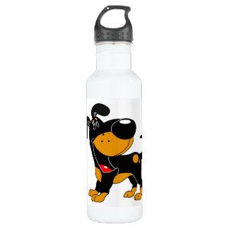 Pet Lovers! Pup 24oz Water Bottle