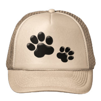 Pet Lovers! Pup and Kitty PawPrints Trucker Hat