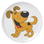 Pet Lovers! Pup Dinner Plate