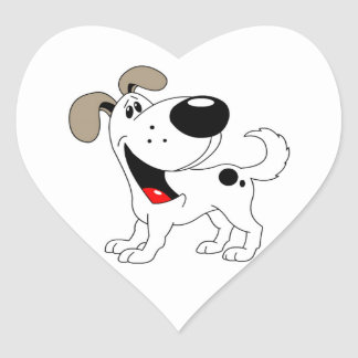 Pet Lovers! Pup Heart Sticker