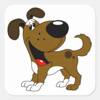 Pet Lovers! Square Sticker
