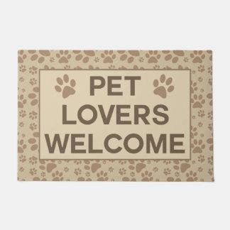 Pet Lovers Welcome Doormat