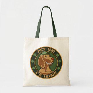 Pet Me! I'm Irish Tote Bag