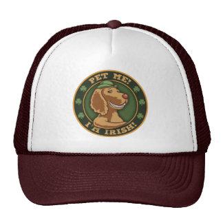 Pet Me! I'm Irish Mesh Hat