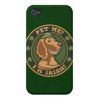 Pet Me! I'm Irish iPhone 4/4S Cases