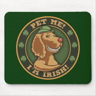 Pet Me! I'm Irish Mouse Pad