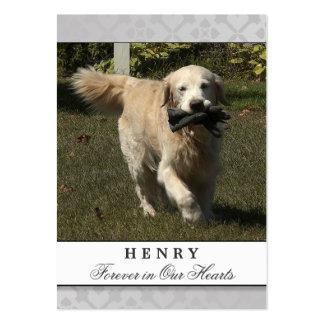 Pet Memorial Card Light Gray Contented Poem