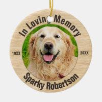 Pet Memorial Ceramic Ornament